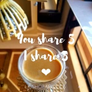 You share 5 and I will share 5 of yours!